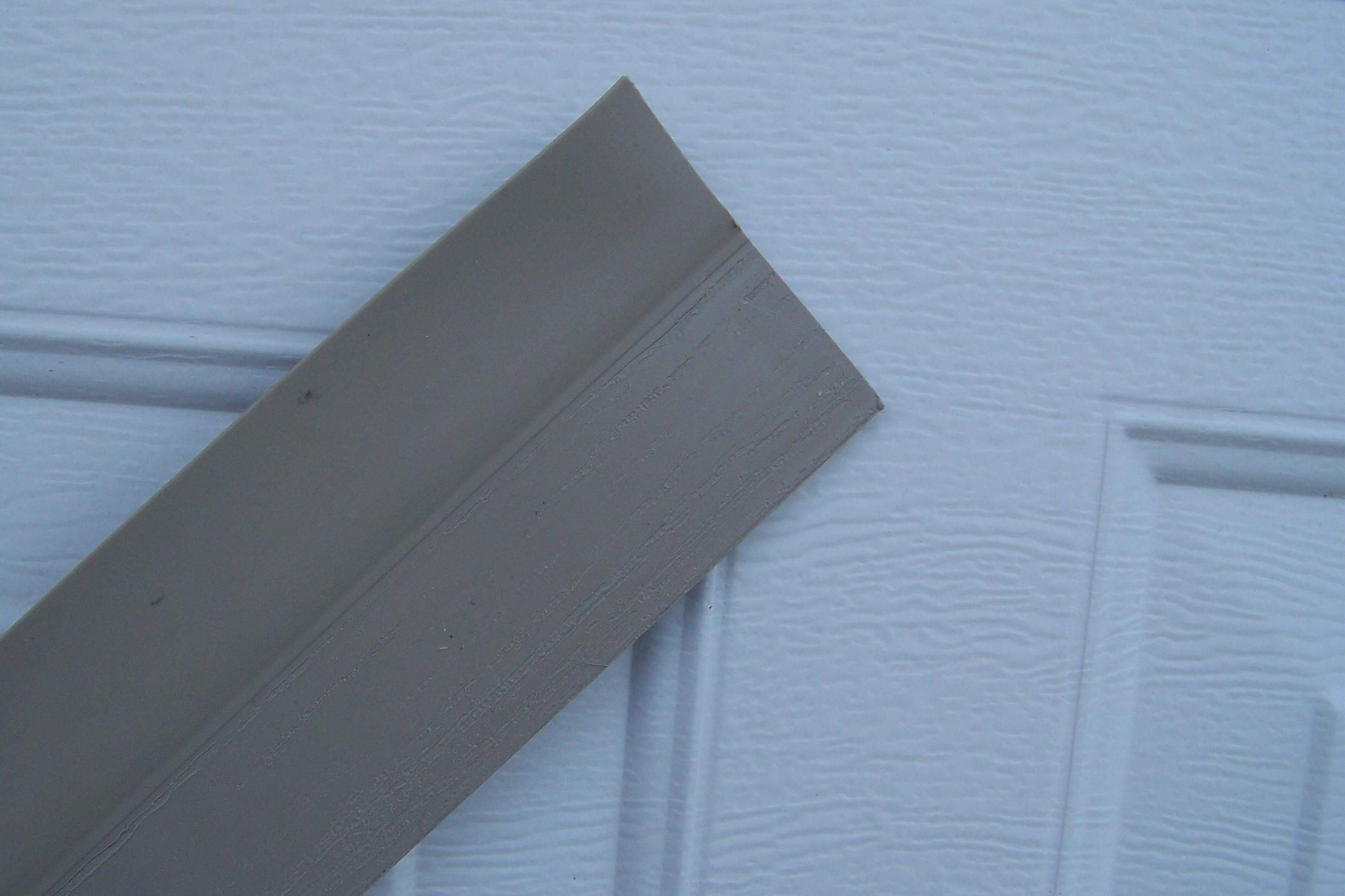 Garage door side seal almond - Garage Door Weather Stripping Kit Double Door