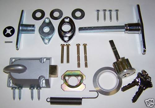 lock wont shutter locks garage roller doors kit full for manual image parts door