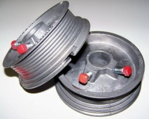 Garage door cable drums for 16 x 11 garage door