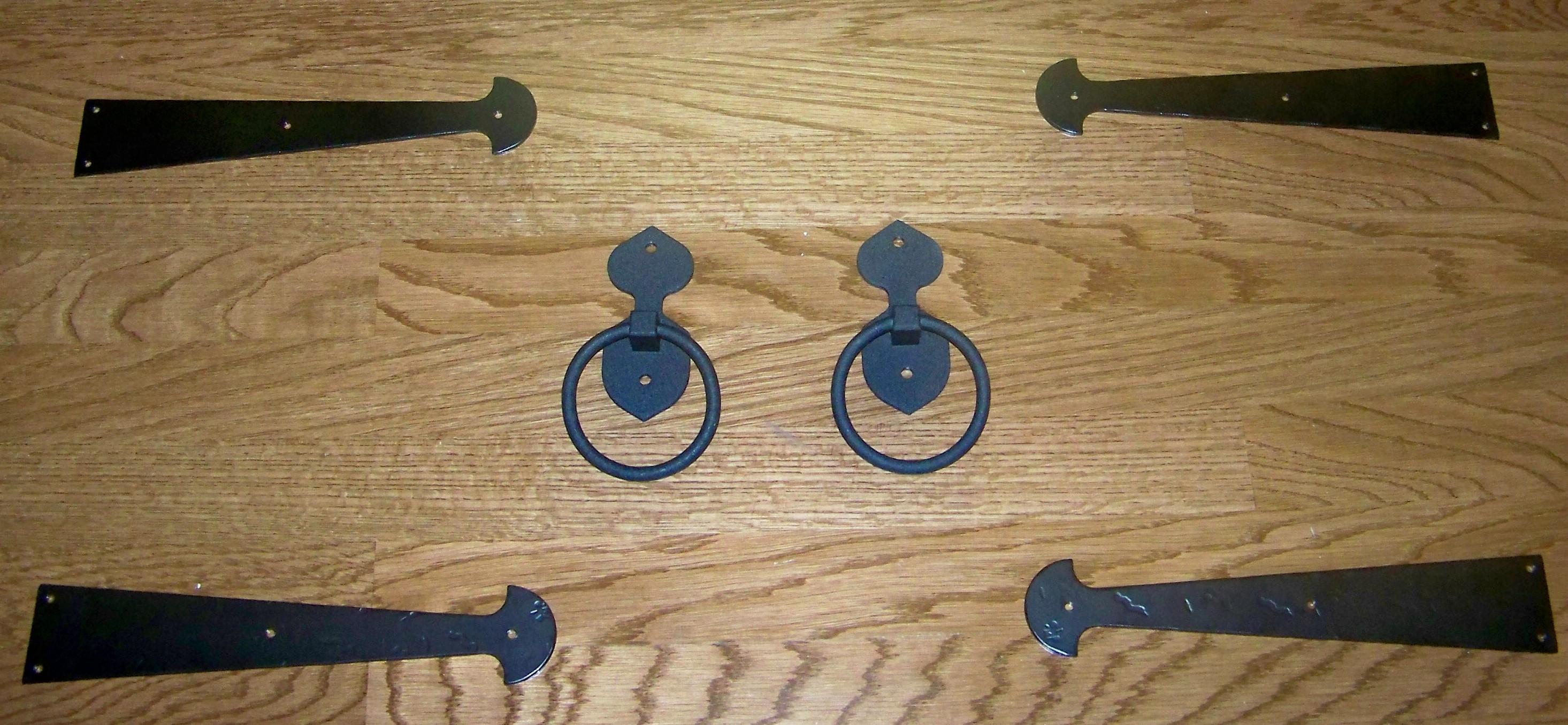 garage door decorative hinges - Decorative Hinges