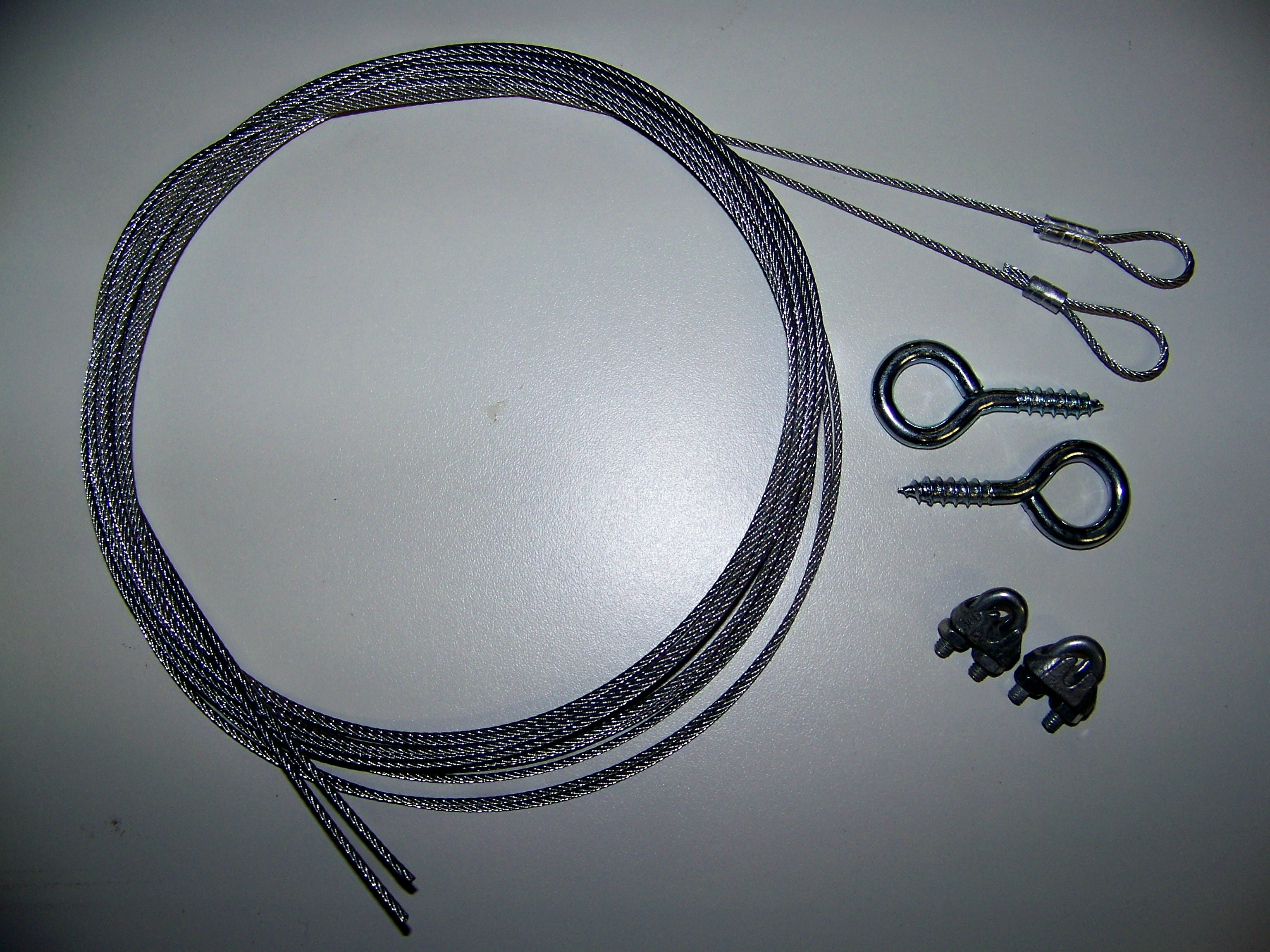 Safety Kit for Extension Spring Garage Doors – Installation Instructions