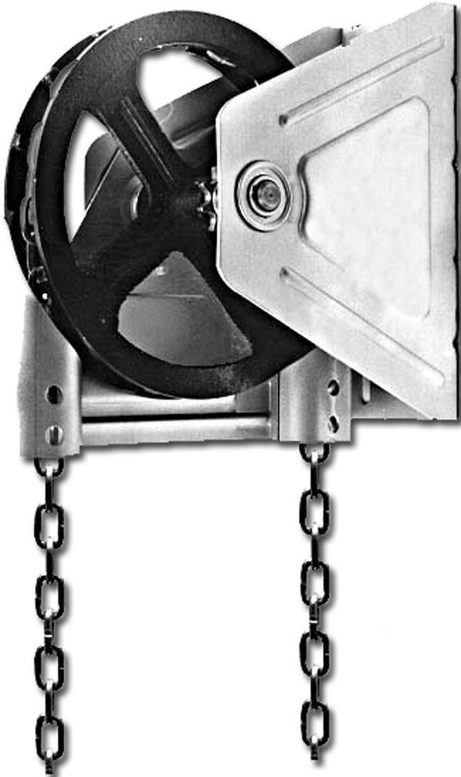 garage door chain hoist