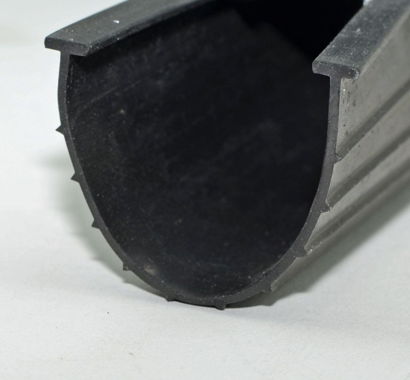 Rubber garage door weather seal garage door stuff for Door rubber seal