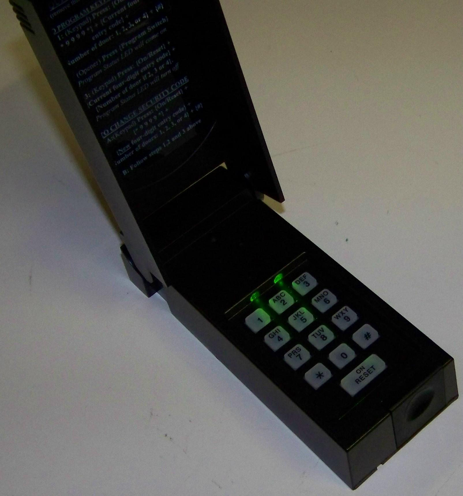Wayne Dalton Wireless Keypad