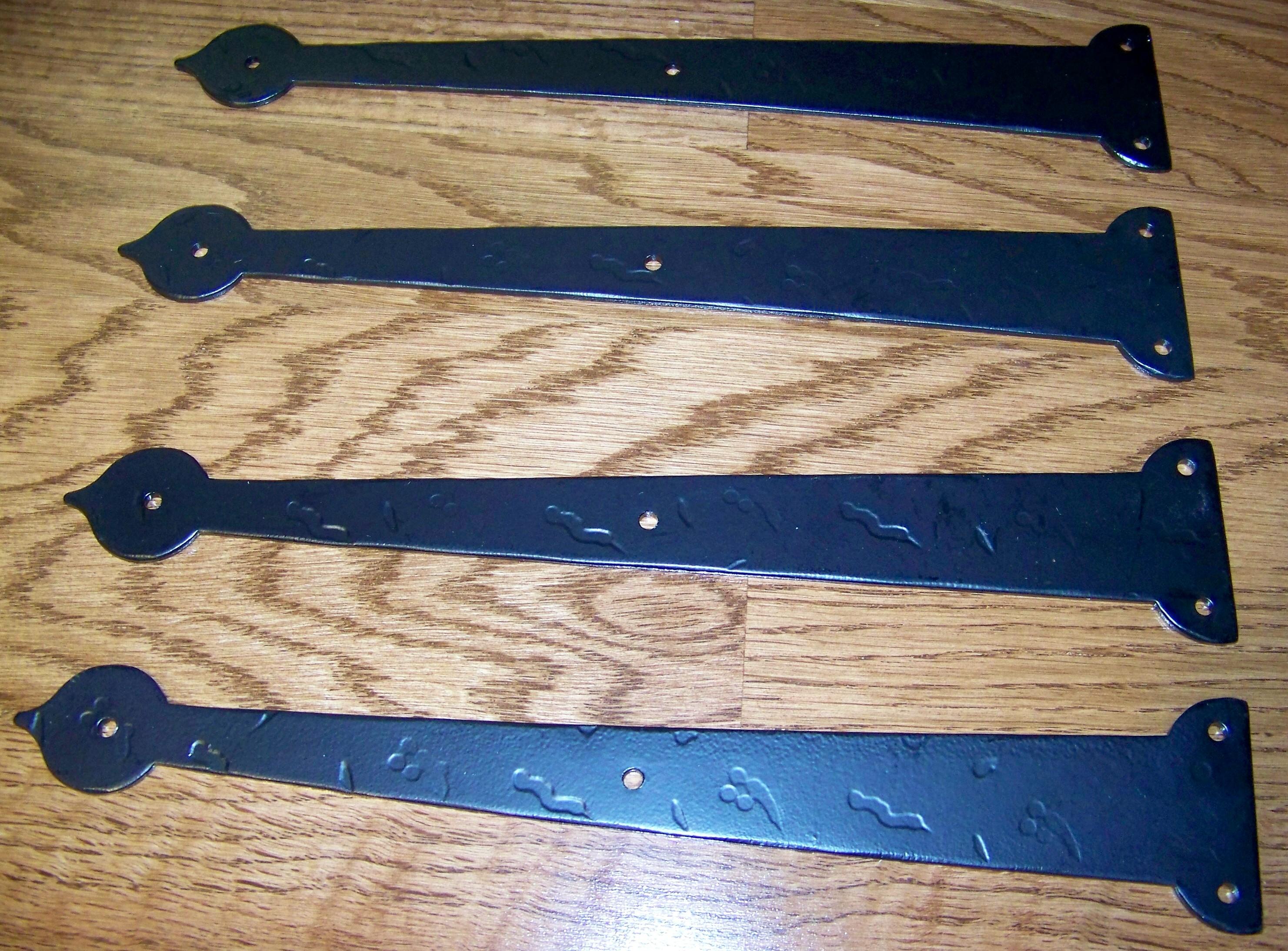 Wrought Iron Garage Door Hardware Decorative Accessories