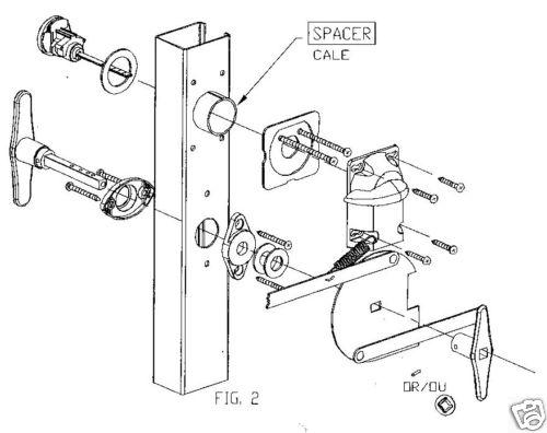Garage door lock kit for How to install a garage door motor