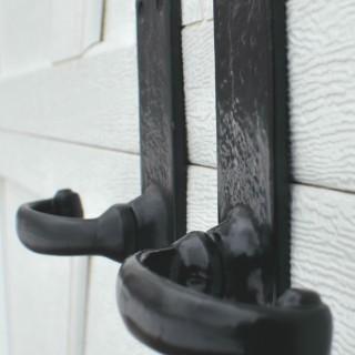 How To Set Garage Door Opener >> Carriage House Garage Door Decorative Hardware