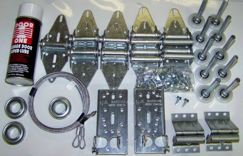 Garage door hardware kit for How to install a garage door motor