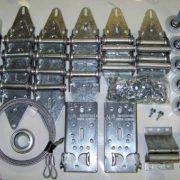 Garage door hinge and roller kit garage door stuff for Home hardware garage packages