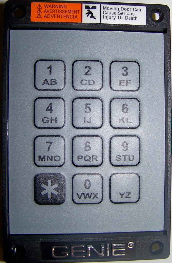 Genie Key Pad