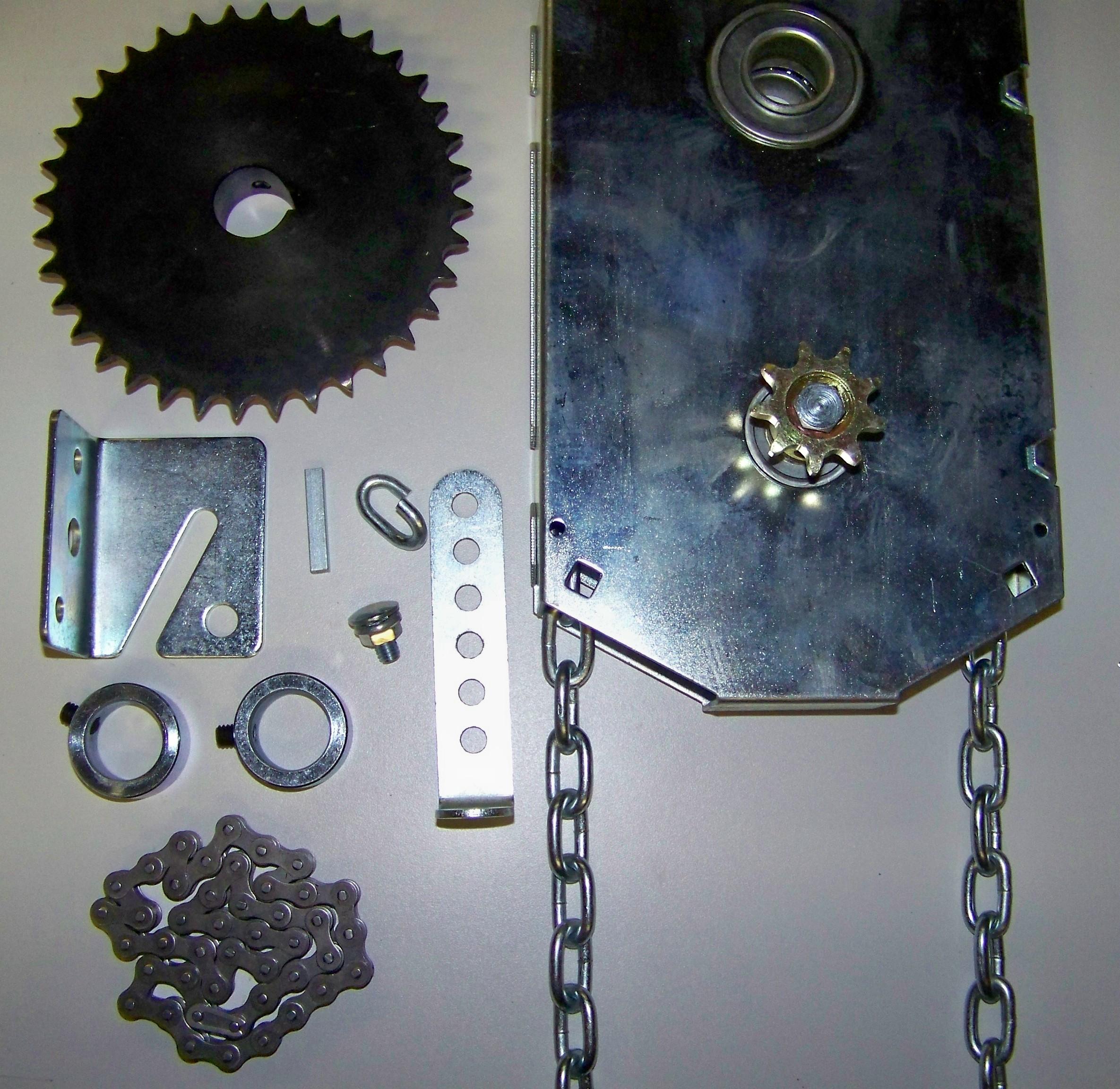 roll up garage door openerchanin hoist