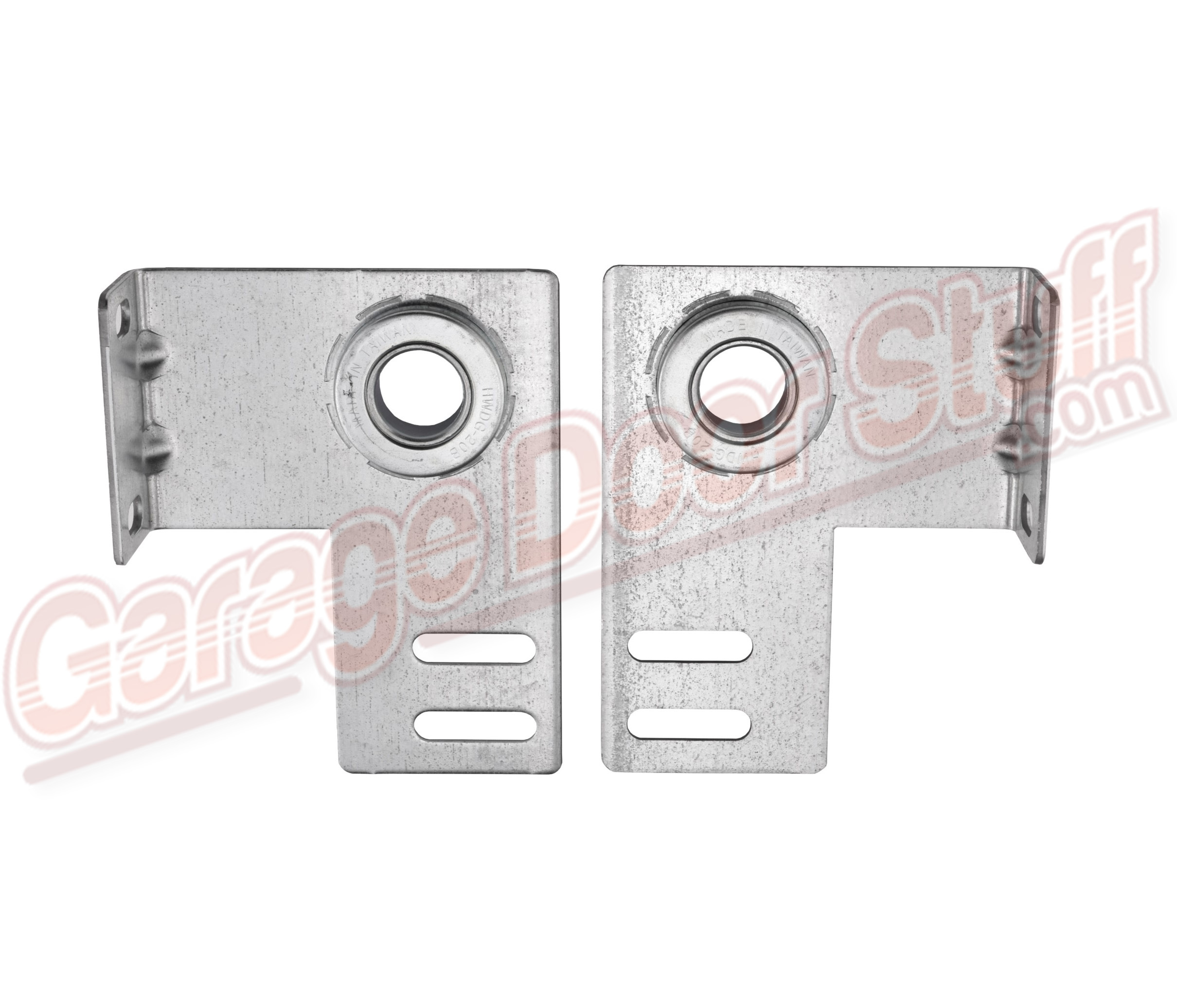 QTY 2 Garage Door Extension Spring Cable Adjustment Plate
