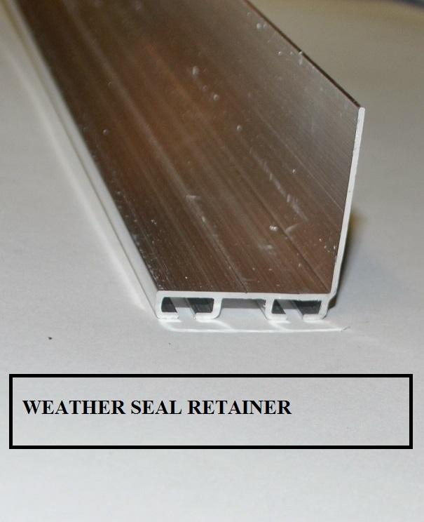 bead bottom index seal weather stripping door garage weatherstripping