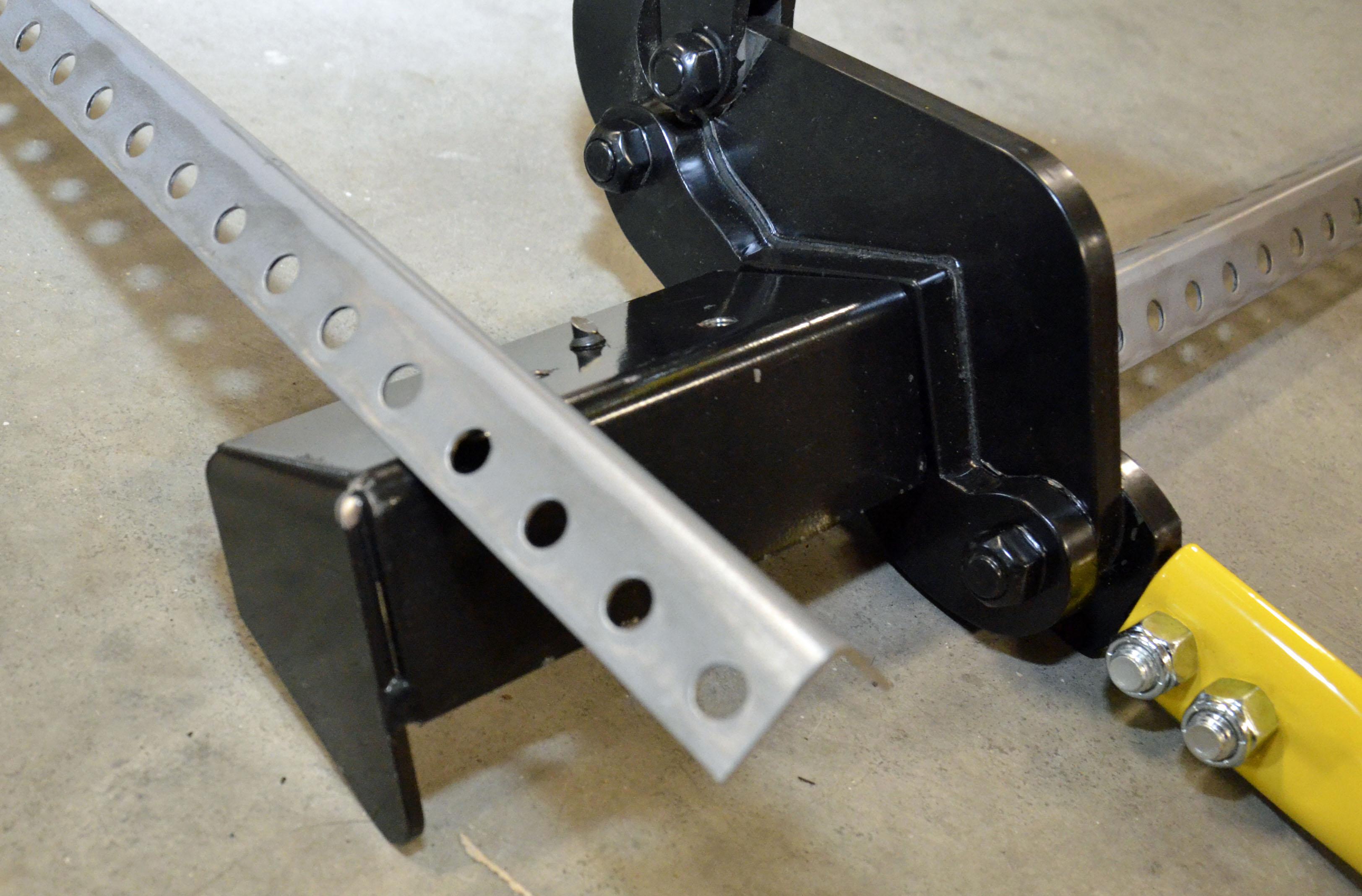 Angle Iron Cutter & Angle Iron Cutter - Garage Door Stuff