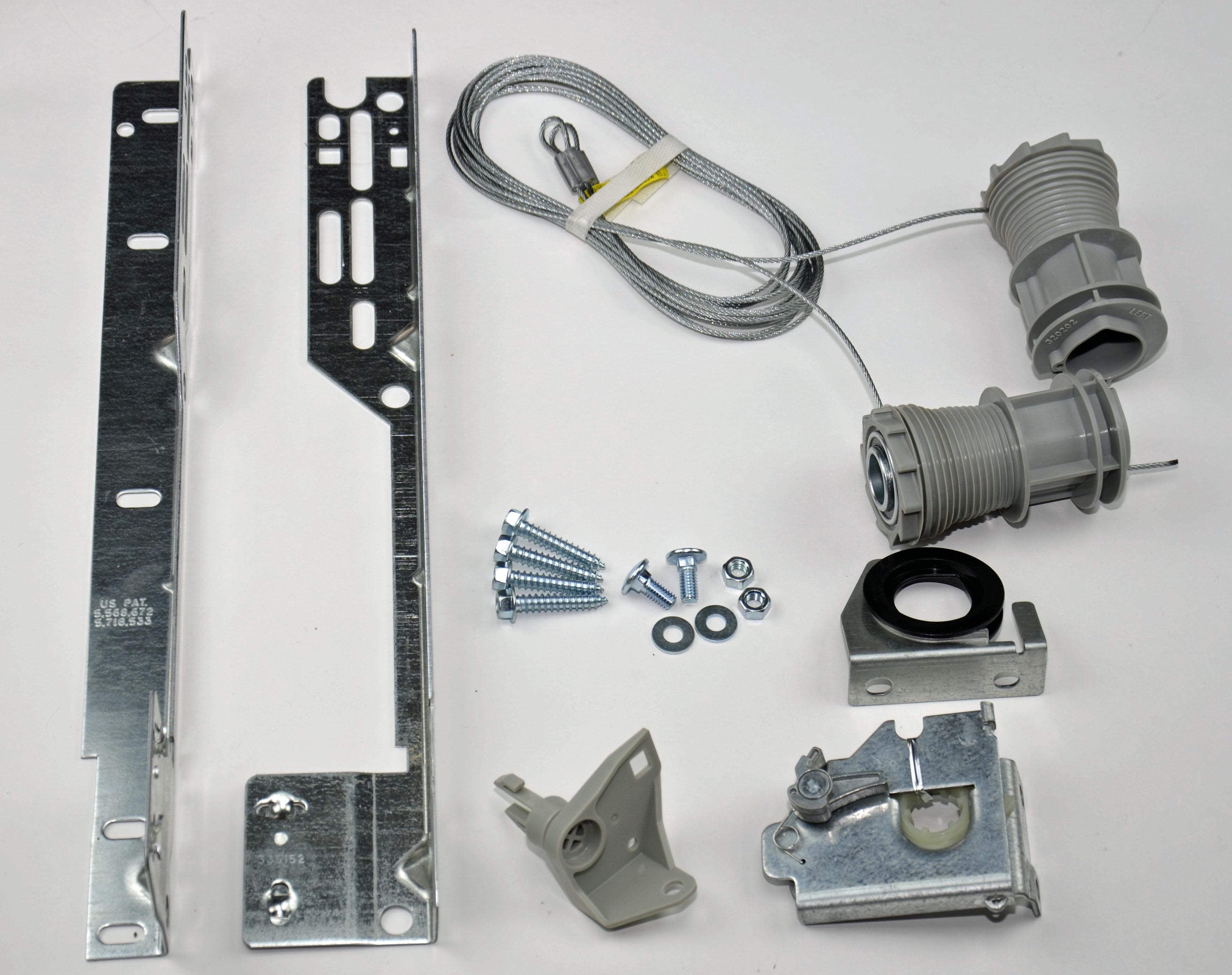 Wayne dalton torquemaster conversion kit single spring for Single garage kit
