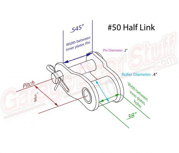 50 Half Link