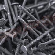 Black Color Nails