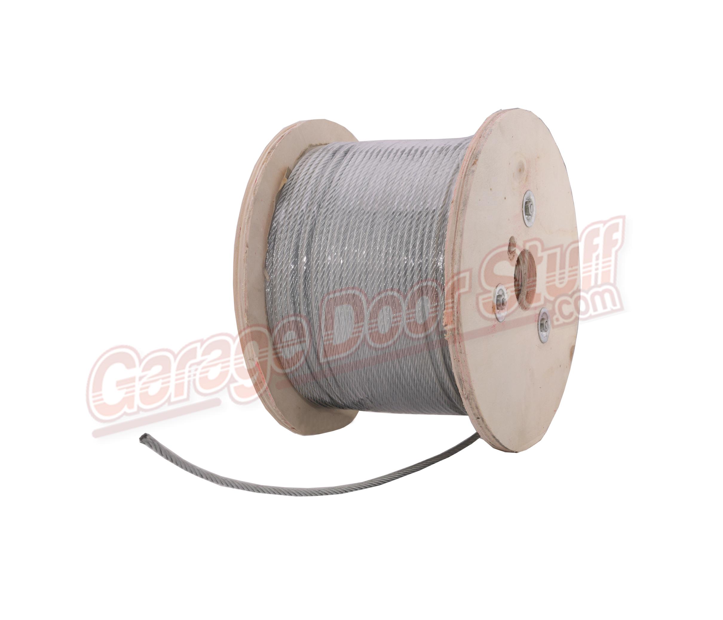 Galvanized Cable 5 32 Quot Garage Door Stuff