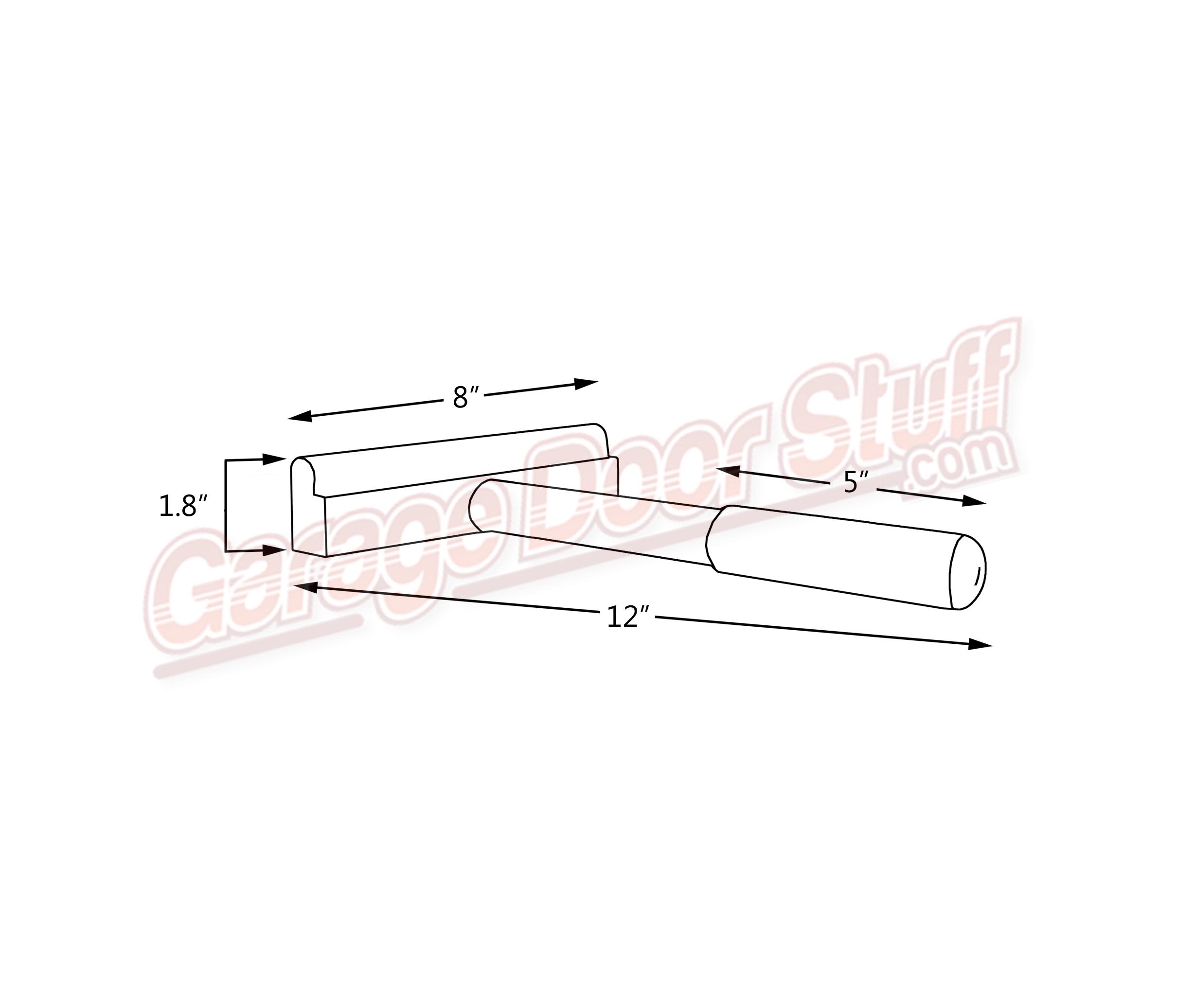 garage door track tool