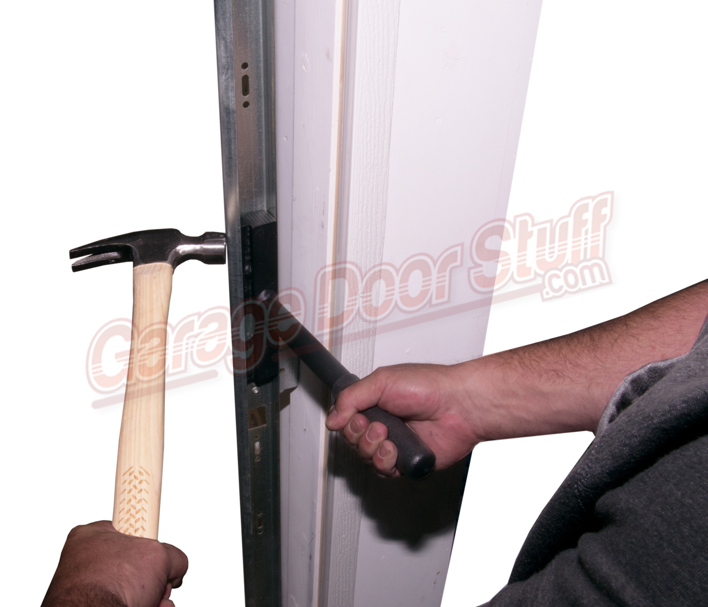 high tracks up door quotes roll garage diy image lift doors track