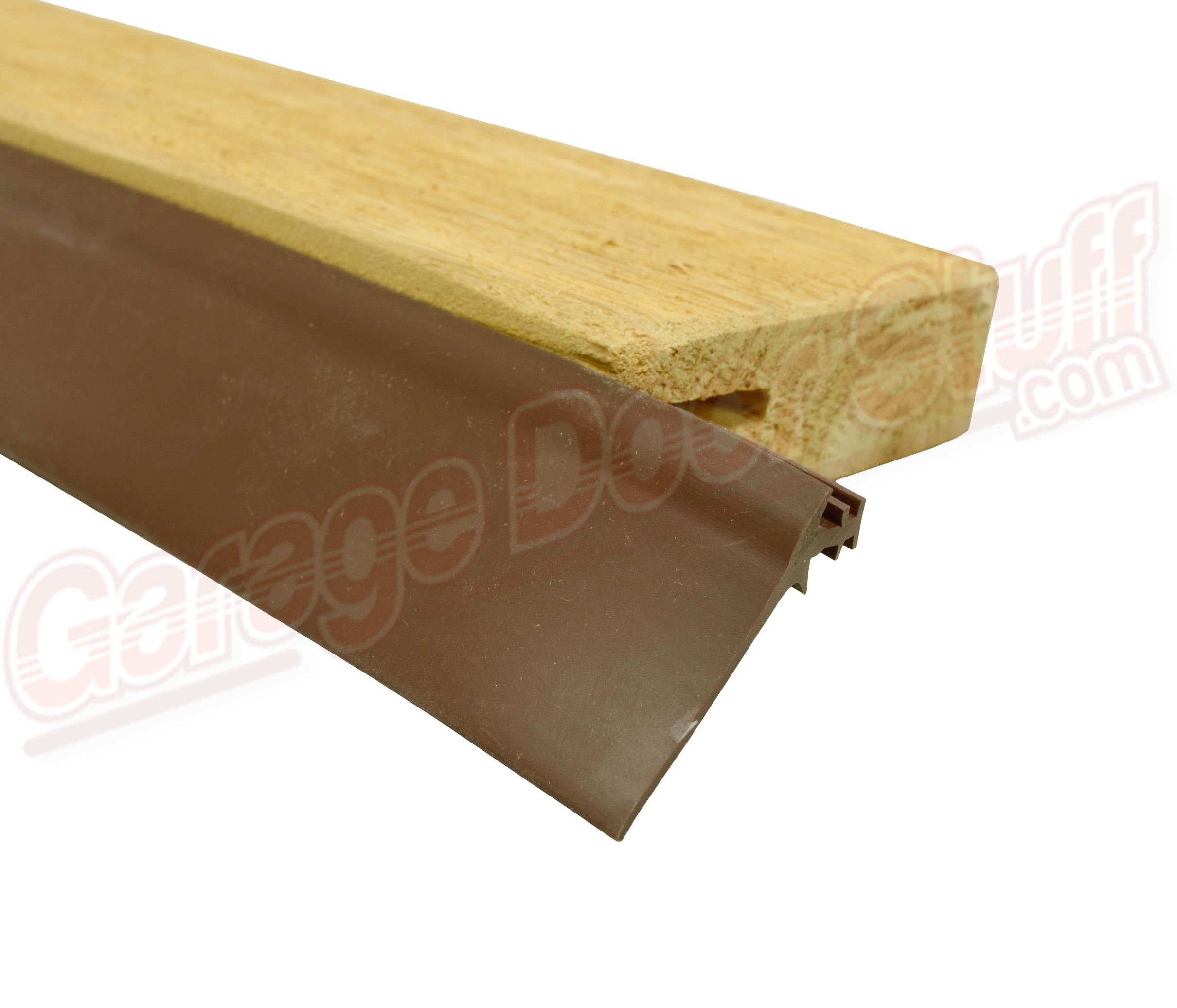 Wood Garage Door Stop Moulding - Garage Door Stuff