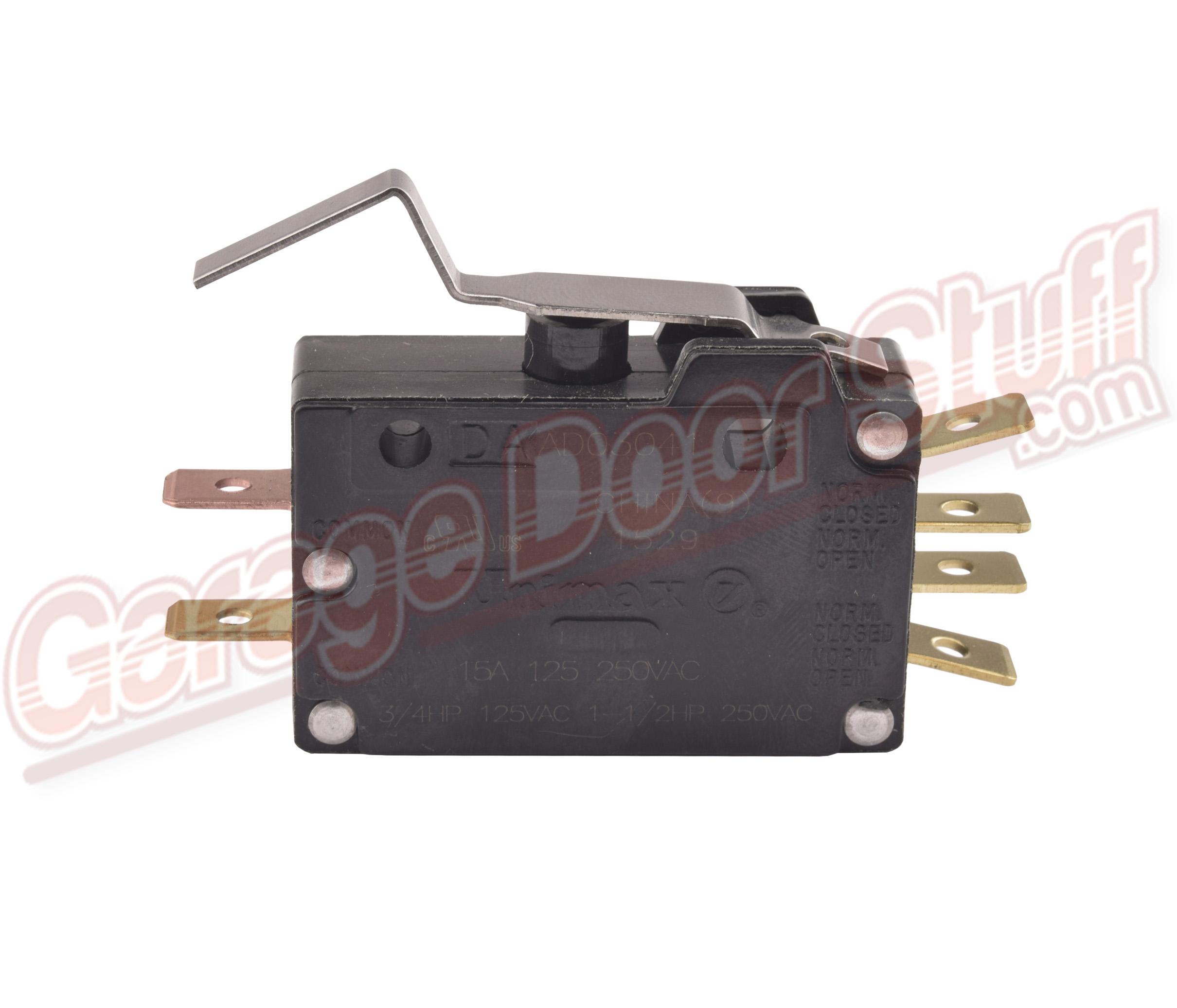 Garage Door Opener DPDT Switch - Garage Door Stuff