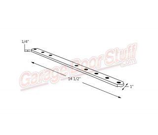 Garage Door Connector Arm Line Drawing