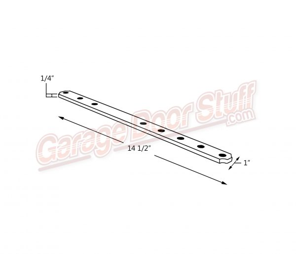 Garage Door Connector Arm Line Drawing