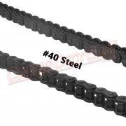 Roller Chain #40 Steel