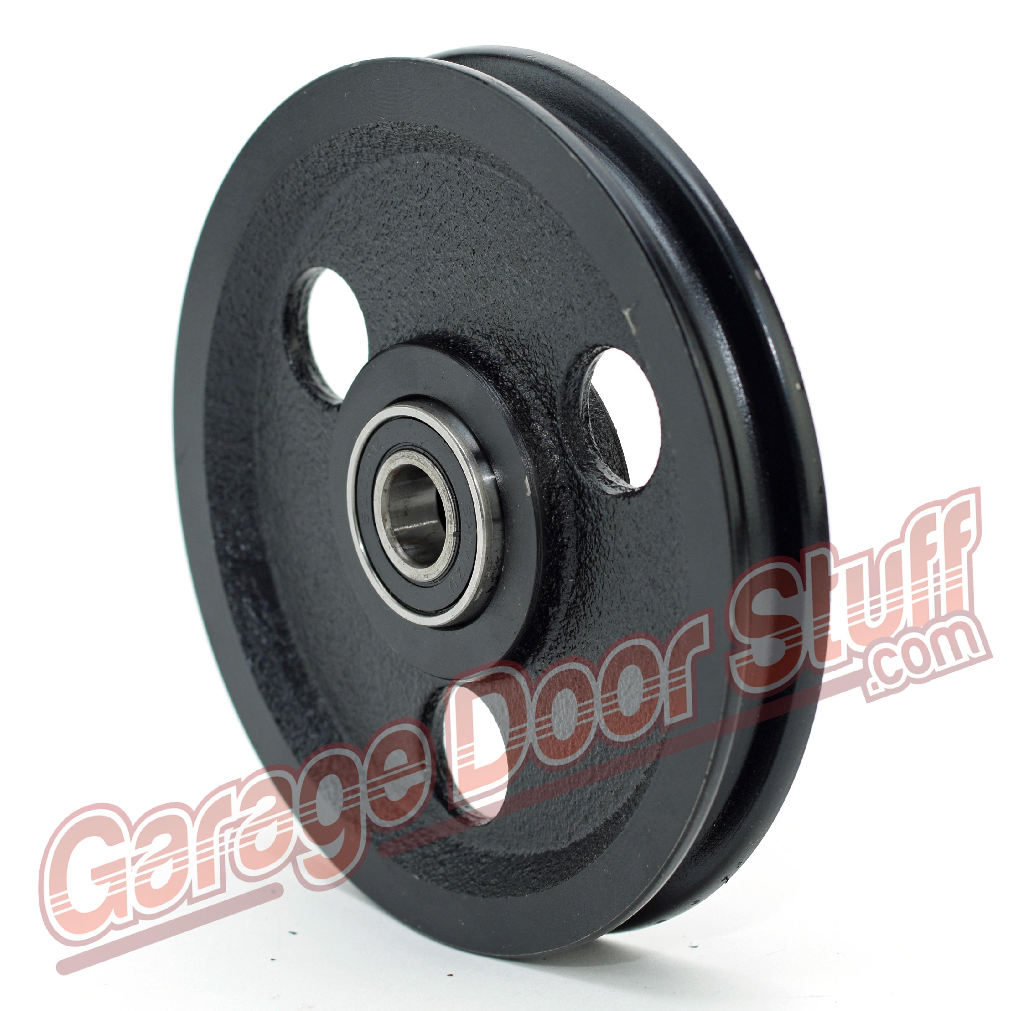 garage door pulley wheelCast Iron Pulley  Garage Door Stuff