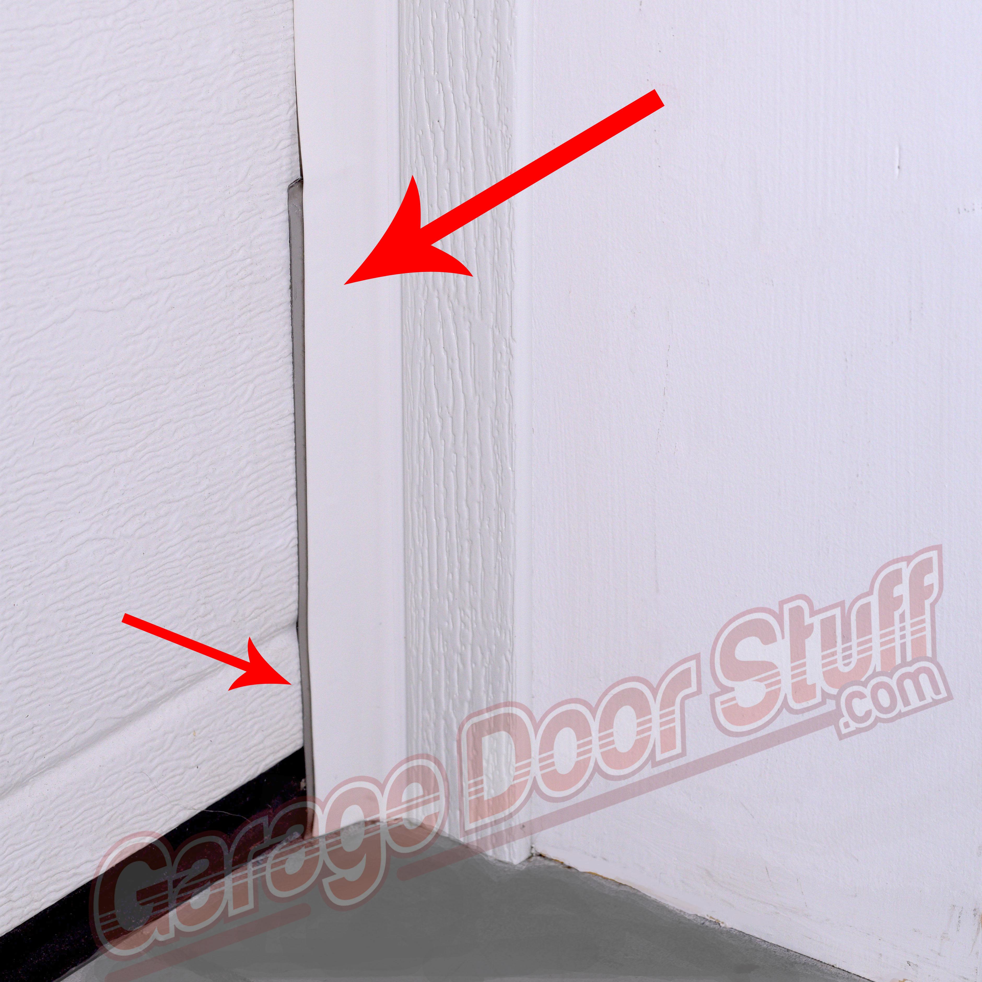 garage retainer cap bottom gds seal x product doors door